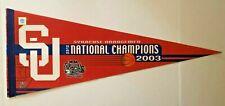 SYRACUSE UNIVERSITY ORANGEMEN 2003 NCAA BASKETBALL CHAMPIONS VINTAGE PENNANT NEW