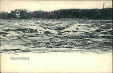 Oulu Uleåborg Finnland Suomi Postcard AK ~1900 Blick über das Meer ungelaufen