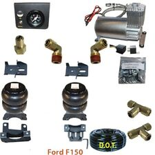 Air Tow Assist Kit 2004-2014 Ford F150 with In Cab Control Compressor DC100