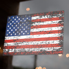 "US American Flag Decal Distressed  5x3"" Sticker United States USA America Merica"