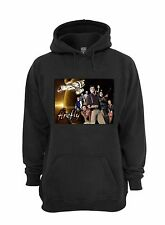 L@@K! Firefly Hoodie - Serenity - Browncoats  - Black -  YOUTH L 14-16
