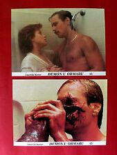 CAMERON'S CLOSET 1988 HORROR SCI-FI COTTER SMITH MEL HARRIS EXYU LOBBY CARDS