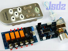 Remote control Volume Audio input choose Motor potentiometer preamp board kits