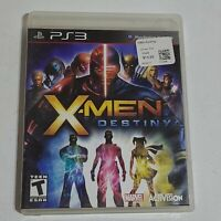 PS3 X-Men Destiny Game (Sony PlayStation 3, 2011) PS3 Complete w/ Manual