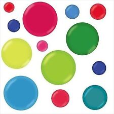 Colorful Bubbles Jumbo Peel & Stick Appliques 13355