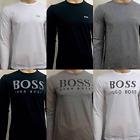 Hugo Boss Crew Neck Long Sleeve T-shirt for Men on Sale!!!