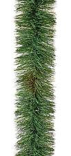 5 Metre Chunky Green Tinsel Decorating Garland Professional Christmas Display