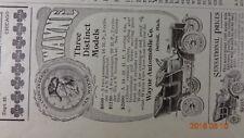 1905 Wayne Auto Co Detroit MI Automobile / MEAD MOTOR CO Magazine Ad