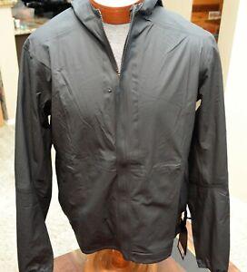 NEW Men's Lululemon Precipitation Jacket  Large Black (Retail: $198) NWT