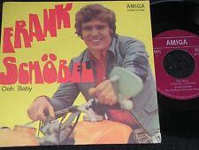 Frank Schöbel ooh baby & I 'd Love you to want me/RDA SP 1974 Amiga 455982