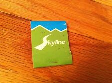 Vintage SKYLAND LOUNGE Big Meadows Matchbook Shenandoah National park Virginia