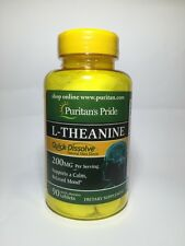 Quick Dissolve L-Theanine 200 mg 90 Tablets