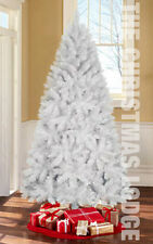 White Christmas Tree / Retro 'Hooked' Branches / 6.5 Ft / Brand New