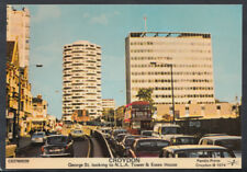 Surrey Postcard - Croydon - George Street Looking To N.L.A.Tower    W718