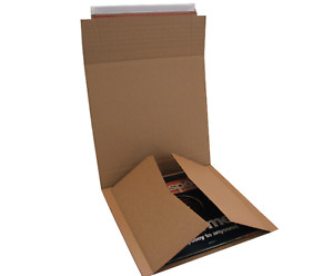 5 x 12″ Lp Size C Multi (Holds 1-6) Lp Postal Mailers Vinyl Record Packaging Box