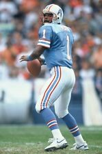 1993 WARREN MOON Houston Oilers FOOTBALL ACTION Glossy Photo 8x10 PICTURE WOW!