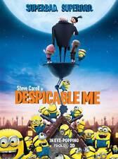 DESPICABLE ME Movie POSTER 27x40 C Julie Andrews Ken Jeong Jason Segel Steve