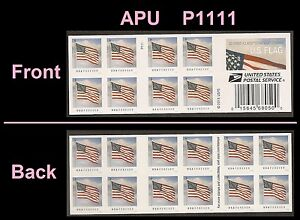 US 5055a Flag forever booklet APU (20 stamps) MNH 2016
