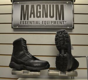 Mens Magnum Panther 8.0 Side Zip Steel Toe Safety Boots UK Sizes 7 - 12 Security