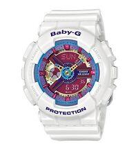 Casio Baby-G * BA112-7A Anadigi Neon Color Dial Gloss White MOM17 COD PayPal