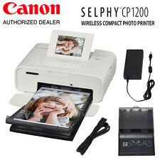 Canon SELPHY CP1200 Wireless Compact Photo Printer (White) - #0600C001