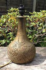 Vintage Mette óleos ocurrir mediados de siglo moderno danés de diseño lámpara de cerámica de estudio