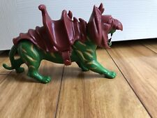 VINTAGE MATTEL MOTU HE-MAN MASTERS OF THE UNIVERSE BATTLE CAT COMPLETE CLEAN!