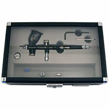 Paasche Vision Double Action Gravity Feed Airbrush Set TGX-2F w/ 10' Air Hose