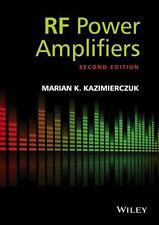 RF Power Amplifiers by Marian K. Kazimierczuk (2014, Hardcover)