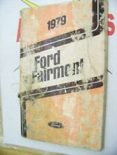 1979 Ford Fairmont Owner's Guide