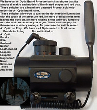 TruGlo Red Dot rifle scope shotgun scope remote power switch new
