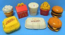 McDonalds 1990 McDINO CHANGEABLES, Set of 8, plus Free Food Fundamentals Set 4