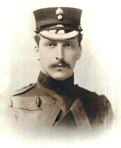 Inter War Photo Handsome Fusilier Soldier Debenham Gould Studio Bournemouth 1931