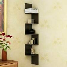 corner zig zag shelf | zig zag corner shelf ( Brown )| Free Shipping With DHL