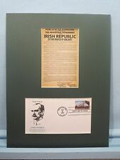Ireland -  Easter Uprising & Irish First Day Cover dedicated to James Connolly