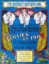 16x20 Poster Ziegfeld Follies of 1909 Ziegfeld Review #0001aa