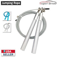 3 Meter Adjustable Jump Rope Speed Skipping Crossfit Gym Aerobic Exercise Boxing