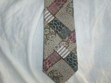 Nr.252, gebrauchte Krawatte, Creation Emilio Vincenti, 100% Polyester, Mustermix