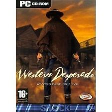 Western Desperado Wanted Dead Or Alive (PC CD) Brand New & Factory Sealed