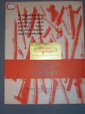 Seneca Falls Machine Catalog~Lo-Swing Lathe&Attachments