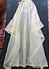 1920 WEDDING VEIL LACE TRIM - SIMILAR TO DUTCHESS KATE'S-ALL ORIGINAL ELEGANT