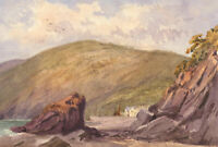 Late 19th Century Watercolour - Devonshire Beach, Clovelly