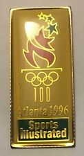 Atlanta 1996 Olympics lapel tie pin badge hat cap