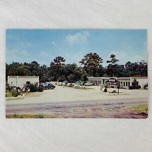 Haywood Motor Court Myrtle Beach South Carolina Motel Vintage 1950's Cars