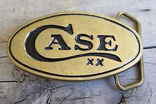 Case XX Knife Knives Cutlery Brass Vintage Belt Buckle