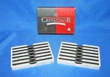 Cretacolor Compressed Medium Charcoal Box of 12 Sticks 494 02 Artist Quality NEW