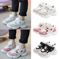 Kids Boys Girls Mesh Breathable Sports Shoes Running Trainers Patchwork Sneakers
