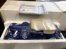 """Ertl/Hamilton Mint 1/18 The 1934 Packard 12"""" Die-cast Car BLUE 34 danbury 98440"""