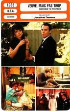 FICHE CINEMA : VEUVE MAIS PAS TROP - Pfeiffer,Baldwin 1988 Married To The Mob
