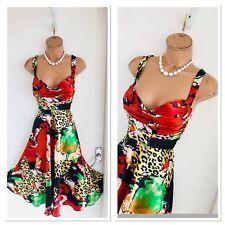 Beautiful JOSEPH RIBKOFF Floral Floaty Dress Uk 12-14